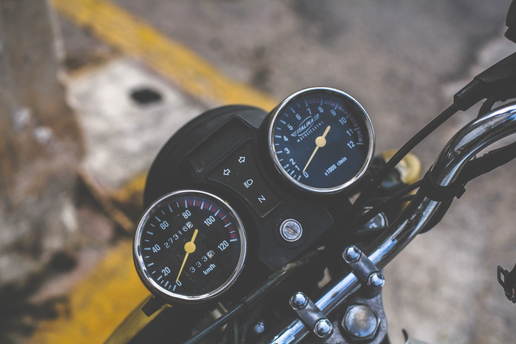 Motorcycle Clubs for Women - speedometer