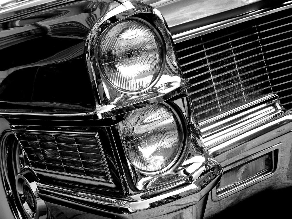 headlight up close