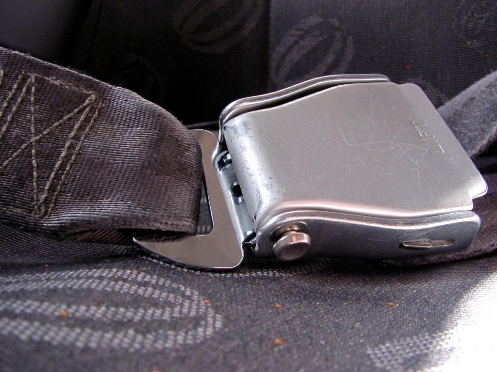 seat belt up close