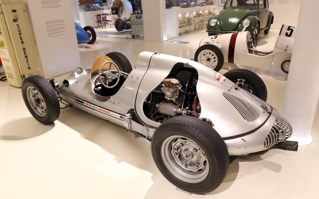 white racecar