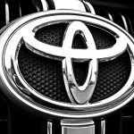 Toyota car grill -- brand logo - Toyota repair - radiator