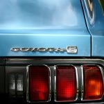 Classic Blue Toyota Tail Light - Toyota Repair - How to Reset Your Oil Change Light